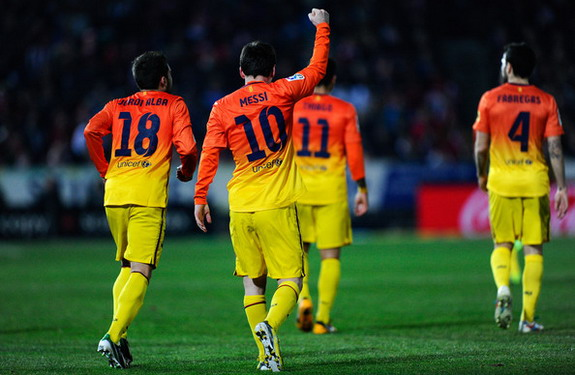 At the precocious age of 25, Lionel Messi has scored an unbelievable 300 goals for Barcelona