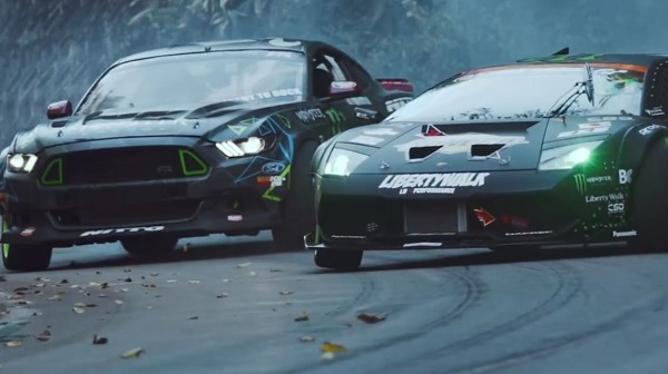 #BattleDrift Mustang vs Muercielago / Vaughn vs Daigo (video)