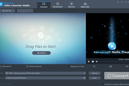 Download Apowersoft Video Converter Studio Latest Version