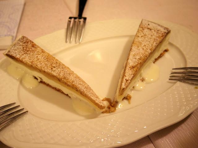 リコッタチーズのアイスクリーム