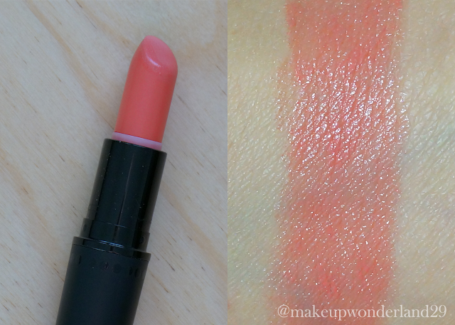 MAC Cosmetics lipstick CORAL BLISS | makeupwonderland29