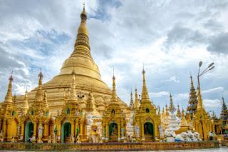 Shwedagon Pagoda; Yangon, Myanmar