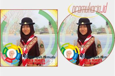 Bingkai Foto Profil Hari Sumpah Pemuda