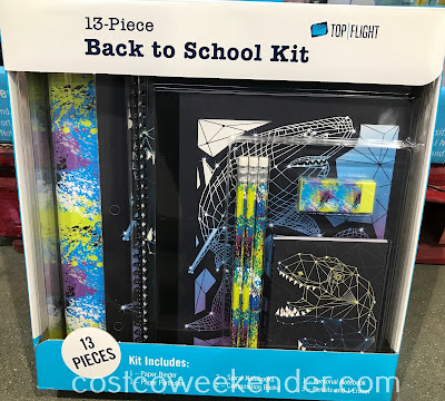 Any student could use the Top Flight 13-piece Back to School Kit