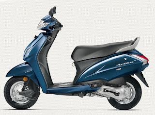Honda Activa 4g Blue Color