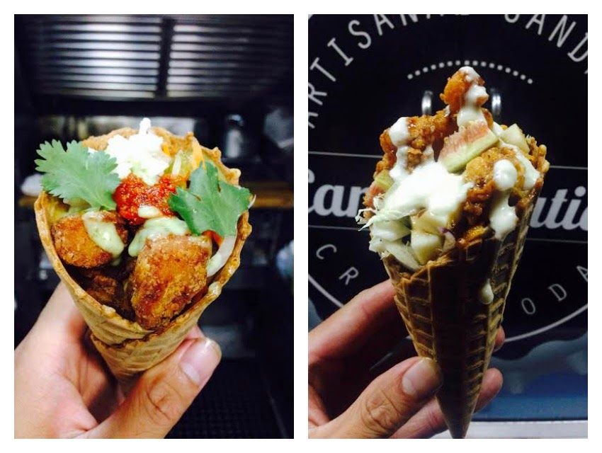 EAT FRIED CHICKEN INSIDE A WAFFLE CONE IN L.A. ON SAT 9/27 AND 10/04