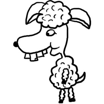 Church House Collection Blog Sheep Clipart