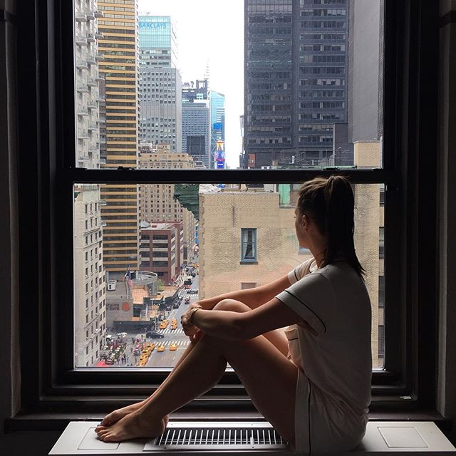 Instagram Life vs Real Life by popular New York style blogger Covering the Bases