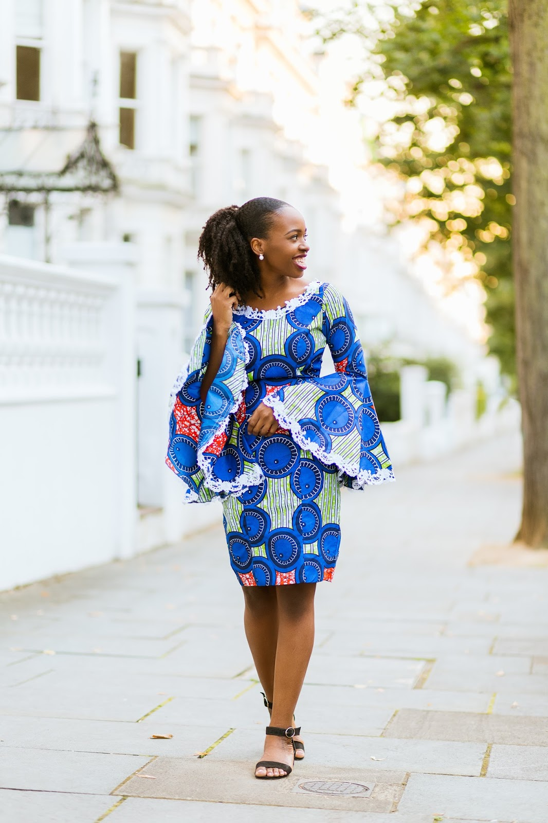 Ankara Dress on Nigerian Fashion Blogger