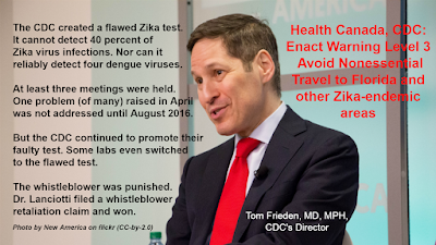New America on flickr (CC-by-2.0) Zika, the Olympics, and Global Health Security Dr. Tom Frieden, CDC's Director