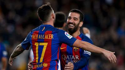 Copa Del Rey : Barcelona 7 vs 0 Hercules 22-12-2016