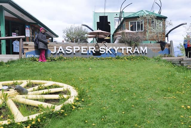 Farah H at Jasper Skytram, Japser National Park, Alberta, Canada