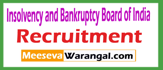 Insolvency and Bankruptcy Board of India IBBI
