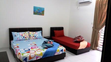 Bilik Tidur Utama Homestay di Johor Bahru