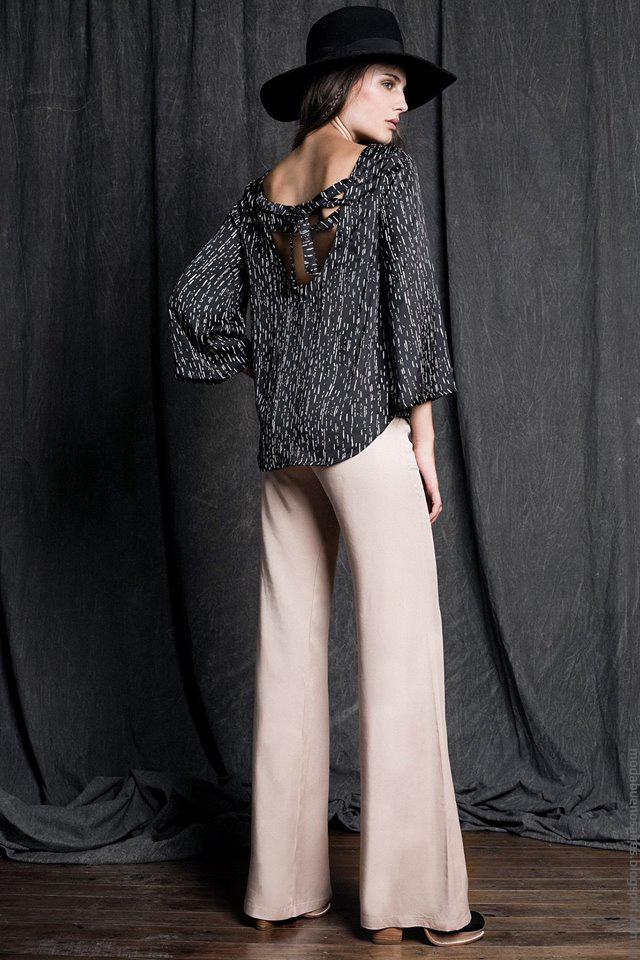 Moda invierno 2016 ropa de mujer Sans Doute blusas de moda invierno 2016.