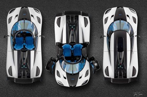 Design front of Koenigsegg Agera RS