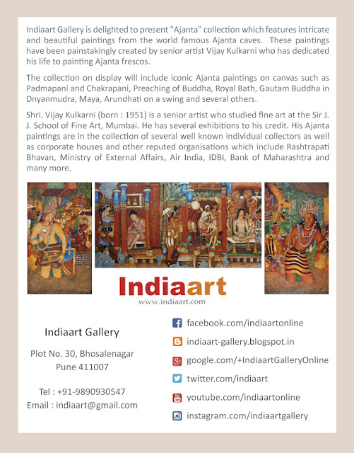 Ajanta Show at Indiaart Gallery - Brief write-up (www.indiaart.com)