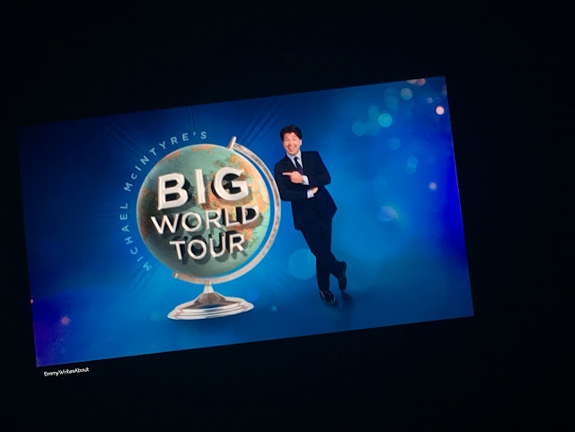 Michael McIntyre Big World Tour