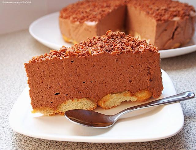 torcik z czekoladą