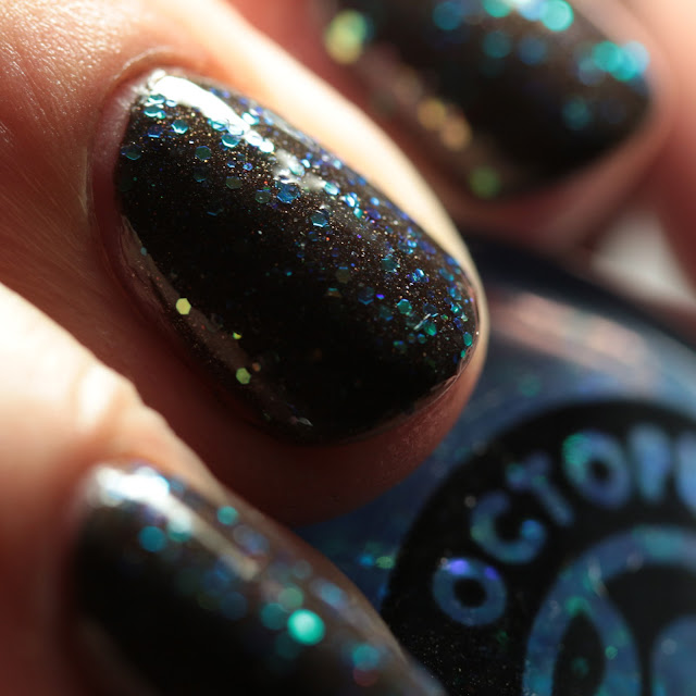 Octopus Party Nail Lacquer On the Frocks over Stag Party