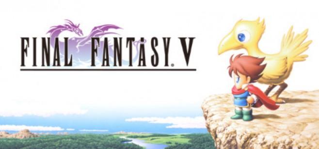 Final Fantasy V ESPAÑOL PC Full Cover Caratula
