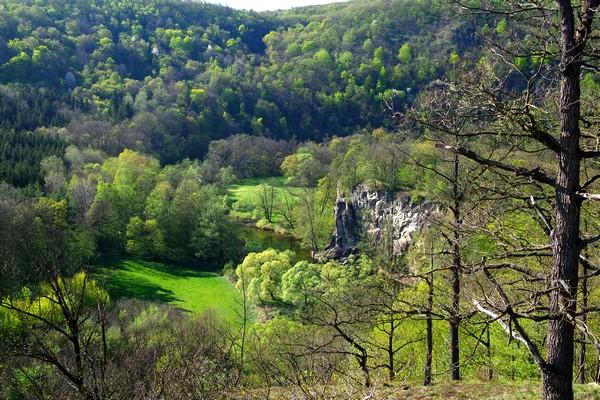 basse autriche parc national thayatal hardegg randonnée