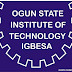 OGITECH 2015/2016 Part-Time Admission Form Currently On Sale [ND, HND