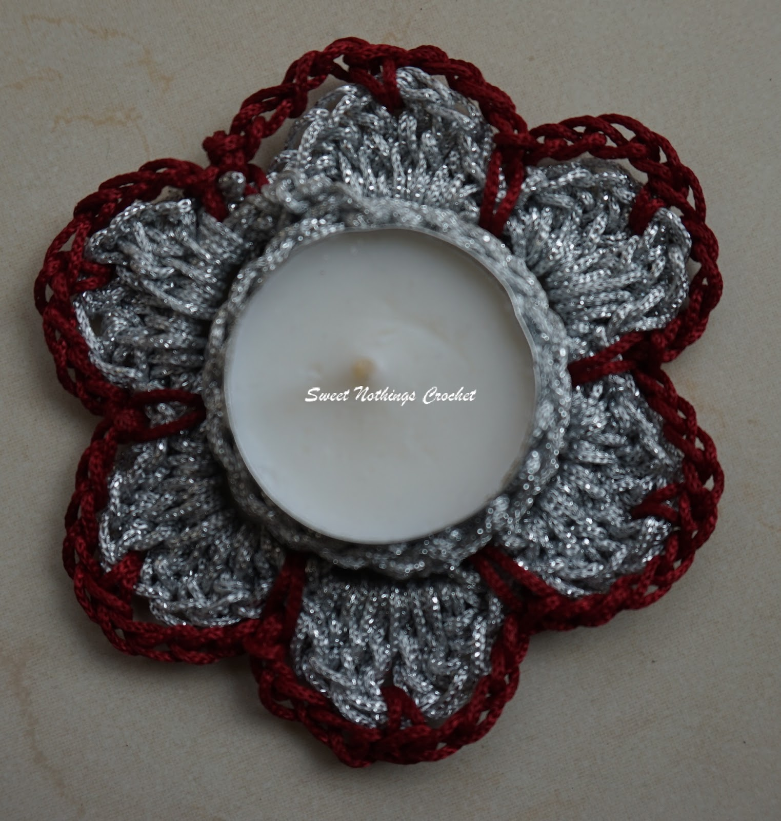 Sweet Nothings Crochet: SMALL BUTTON ROSE FLOWER - 2
