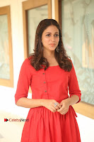 Actress Lavanya Tripathi Latest Pos in Red Dress at Radha Movie Success Meet .COM 0057.JPG
