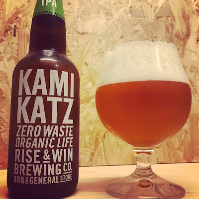 KAMIKAZ IPA (Rise and Win Brewing Co.)