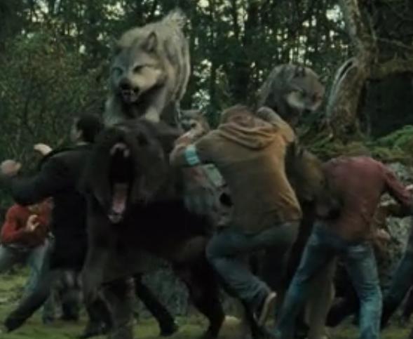 jacob black werewolf transformation - photo #32