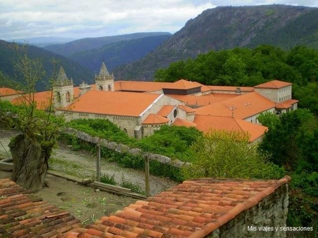 Ribeira Sacra, Monasterio de Santo Estevo, Galicia