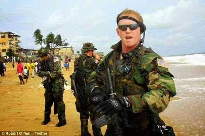 Robert O'Neill, the man who shot Osama Bin Laden