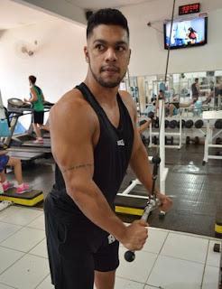 Fisiculturista há um ano, atleta de RO treina para Campeonato Brasileiro