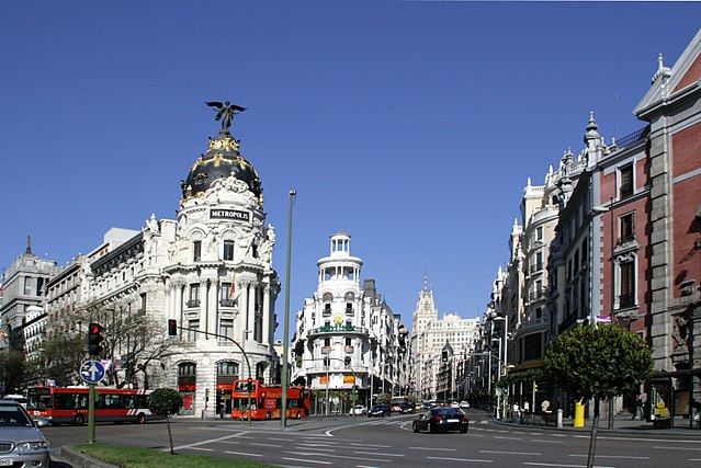 Calle de Alcala, Madrid, Spain