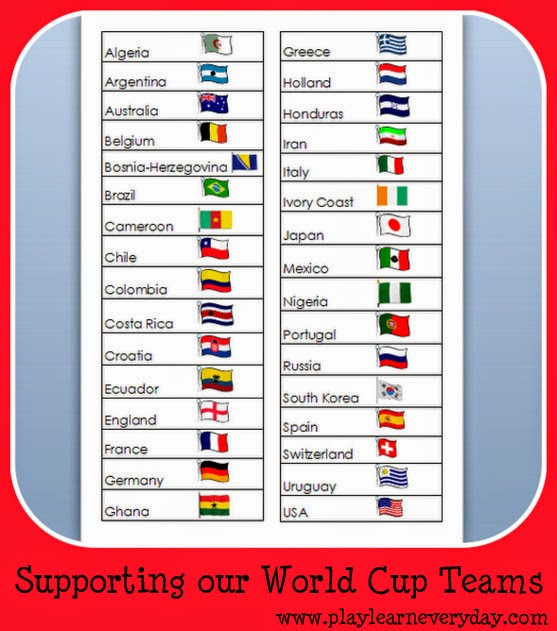 supporting our world cup teams play and learn every day