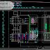 مخطط مشروع محطة توليد الطاقة الكهربائية 110kV اوتوكاد dwg