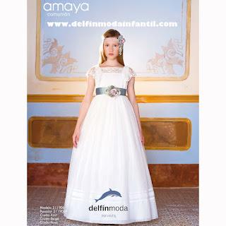 vestido comunion amaya 2019