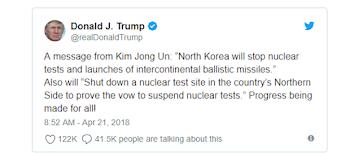 किम जोंग बड़ा फैसला, उत्तर कोरिया अब परमाणु परीक्षण नहीं करेगा