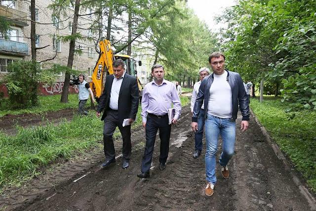 Уникальную лиственничную аллею на Рабочке благоустроят Сергиев Посад