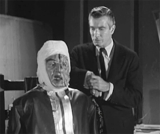 Harry Wilson and Donald Murphy in Frankenstein's Daughter (1958)