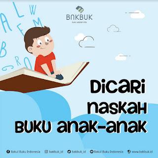 Lomba Menulis Buku Anak @BAKBUK ID [31/05/2019]