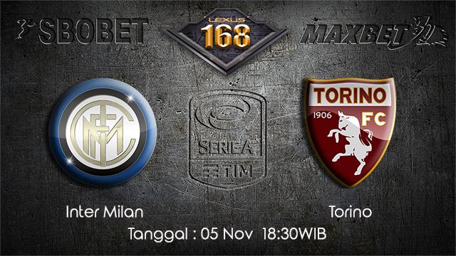 PREDIKSIBOLA - PREDIKSI TARUHAN BOLA INTER MILAN VS TORINO 5 NOVEMBER 2017 (SERIE A)