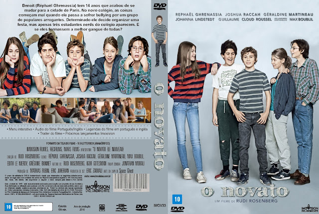 Capa DVD O Novato