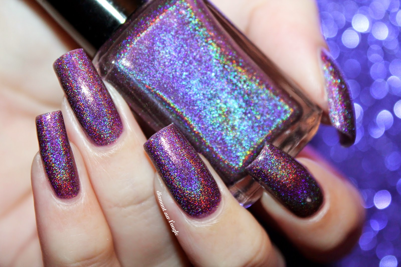 Swatch of April 2013 by Enchanted Polish