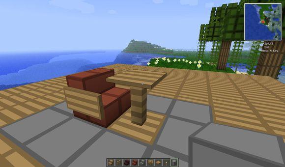 當個創世神 (Minecraft) 椅子、沙發與燈具、壁爐裝修圖文教學   娛樂計程車