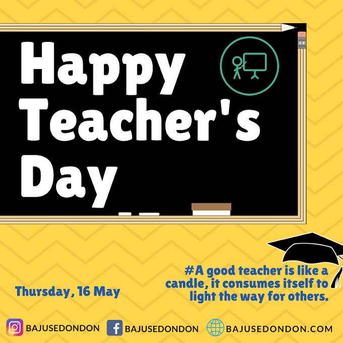 Selamat Hari Guru (16 Mei 2019)