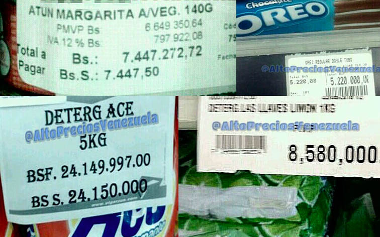 Así aumentaron al triple los precios tras el aumento de sueldo de Maduro