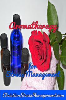 Aromatherapy for stress management recipe blog posts