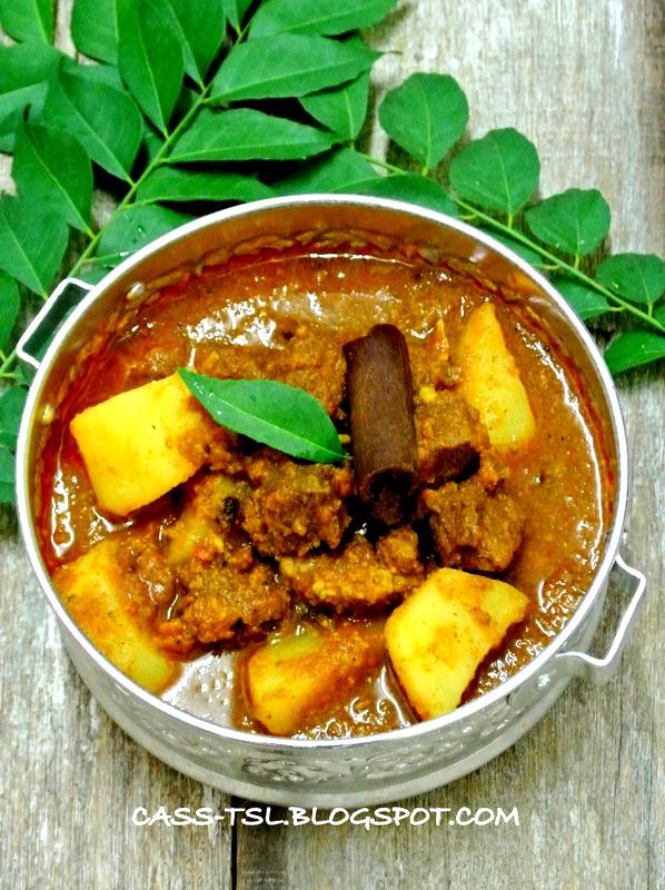 ** 搵到食 **: 印度咖哩羊肉(無椰漿) Indian Style Mutton Curry